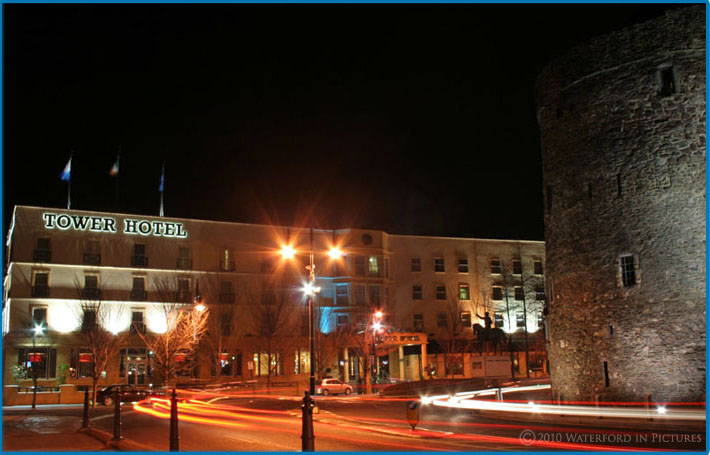Waterford City night time shot 002