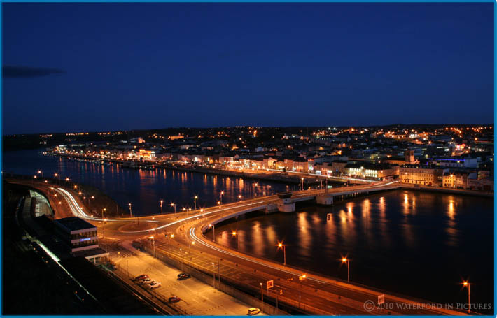 Waterford In Pictures - Waterford City night time shot