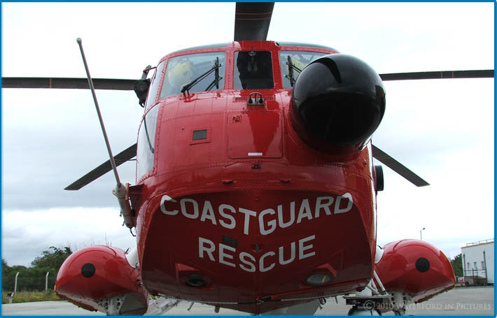 image of Rescue 117 Waterford Coast Guard Helicopter